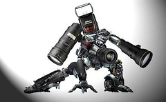 Camera Transformers (Matthew Fang) Tags: camera black fun toy robot nikon science transformers konica create frhwofavs excapture