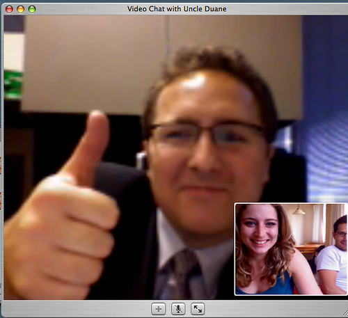 videoconferencing with iChat