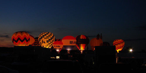 Balloon Glow Middletown Ohio