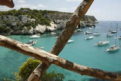 X (David Ubeda) Tags: beach playa menorca cala platja macarella