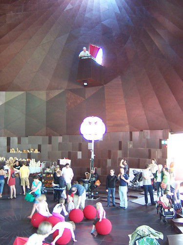 The Serpentine Gallery Pavilion 2007 by Olafur Eliasson and Kjetil Thorsen, Interior