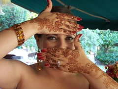 The happy bride (Neeta-Mehndidesigner) Tags: wedding tracy fremont danville eastbay sacramento shaadi unioncity hayward henna mehendi stockton pleasanton mehndi sangeet wwwmehndidesignercom mehndidesigner neetasharma melamagic mehndikiraat
