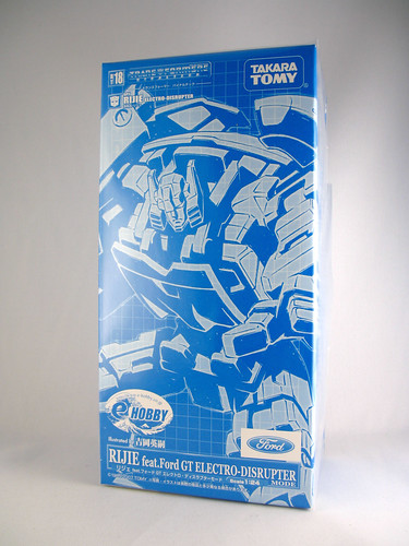 TakaraTomy Binaltech Rijie (E-Hobby Electro-Disruptor Mode Exclusive)