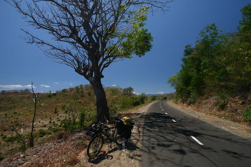 Great cycling on Sumbawa...