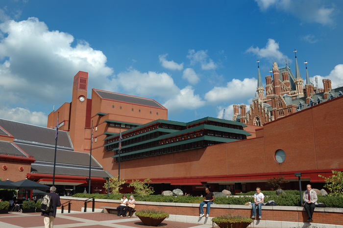 British Library :: Click for previous photo