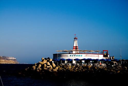 Faro del puerto de mogán