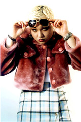 Krchive: 1995 (draGnet ) Tags: pink film me photo archive makeup bleach transgender tranny blonde 1995 missk