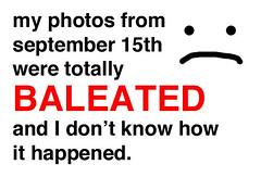 BALEATED
