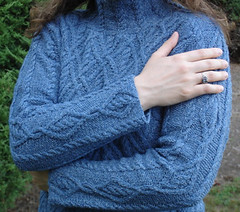 Tweed Pullover Sleeve Detail