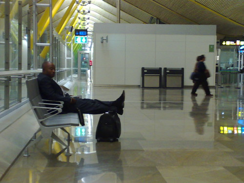 un viajero en Barajas