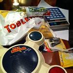 Gadgets, sweets, and batteries thumbnail
