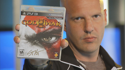 The Tester - Stig signed God of War III