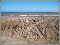 """"""" Tracks to Nowhere """" (** Janets Photos **) Tags: uk abstract seaside yorkshire beaches hornsea"""