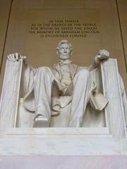 Lincoln (Mikepaws) Tags: summer usa monument statue architecture america mall dc washington unitedstates district columbia abraham nati