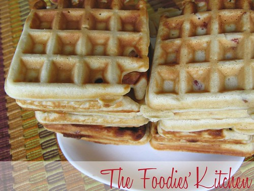 Bacon-Brown Sugar Waffles