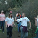 Students Hiking at the Student  Leadership Retreat (Malibu, CA) 2005