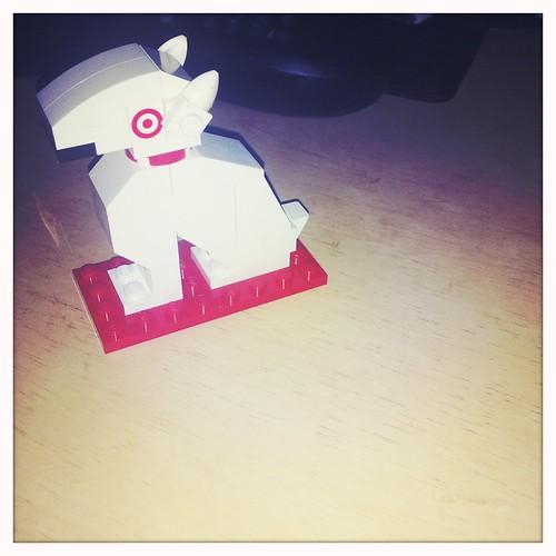 target dog bullseye. Target LEGO Bullseye Dog