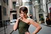 Karley (PeteTsai) Tags: road chicago brick female photo model image picture pic cobblestone photograph strobist