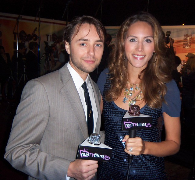 Vincent Kartheiser, Mad Men, Cristina Nardozzi, Freedom Awards 2010