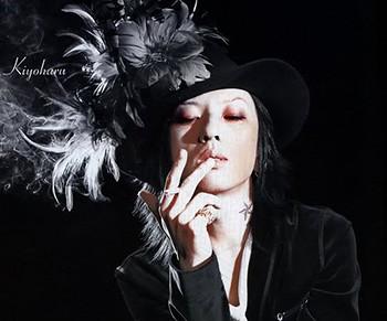 kiyoharu_featherhat