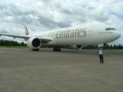 Emirates 777-300ER by Red Barnes.