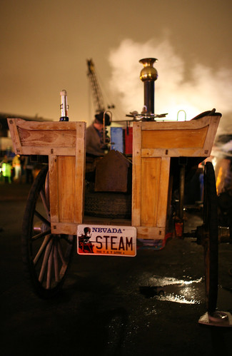 Neverwas Runabout Steam Engine