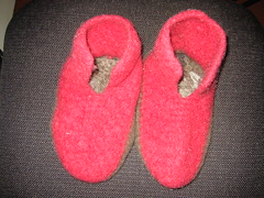 Old Felted Slippers