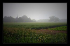 (andrewlee1967) Tags: uk trees england mist church landscape cheshire fields andrewlee canon400d andrewlee1967 focusman5