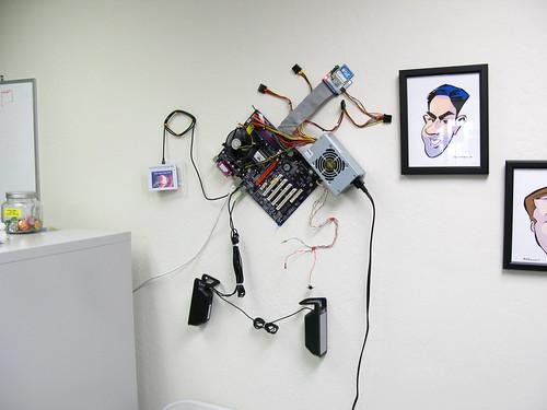 PBwiki Wall Computer