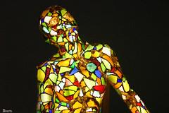 O homem de vidro (Boarin) Tags: luz vidro bravo museu arte homem