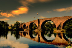 The stirling bridge ...ask the scots (Nicolas Valentin) Tags: bridge sky water river scotland bravo scenery stirling forth