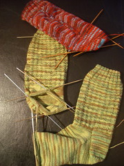 Slow Sock Progress