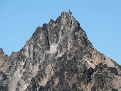 Sherpa Peak, close up shot, as seen from the summit of Devils Head (pt. 6666) 7.29.07.