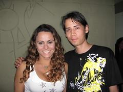 Viviane Arajo e Joo Gabriel Galdea (galdea) Tags: radio o bahia salvador viviane metropole aranha araujo galdea