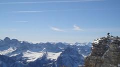 Over the Top (lordbalancer) Tags: panorama marzo trentino lillo 2007 cima canazei conquista saluto grupposella massiccio limpido