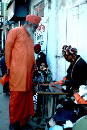 Monk, Bihar, India 002