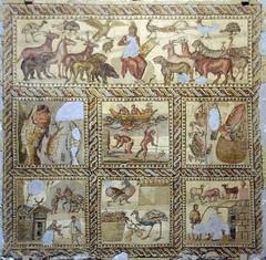 Mosaic d´Orfeu, Museu de Trípoli