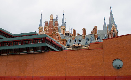 St. Pancras Station from the British Library