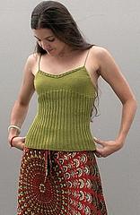 Jessica's Phildar Silk Cami