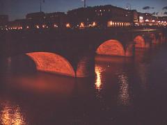 il ponte di piazza Vittorio (archgionni) Tags: red water river torino fiume ponte po acqua turin colori riflessi archi struttura