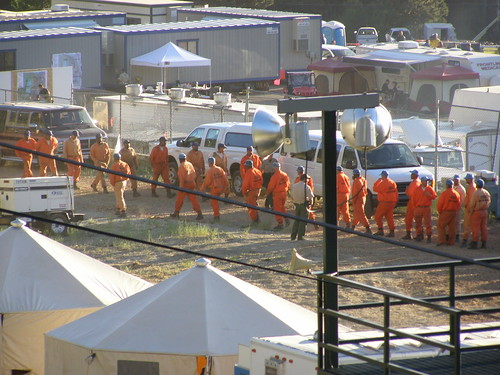 CDC Prisoners walk in circles, Angora Fire