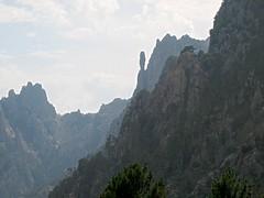 Campanile de Sainte-Lucie et vallon de Frassicia