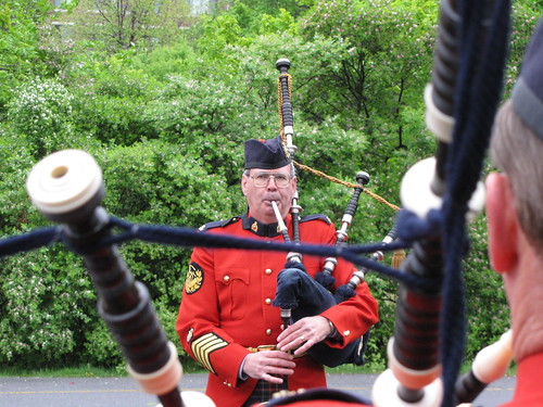 RCMP Pipes & Drums band