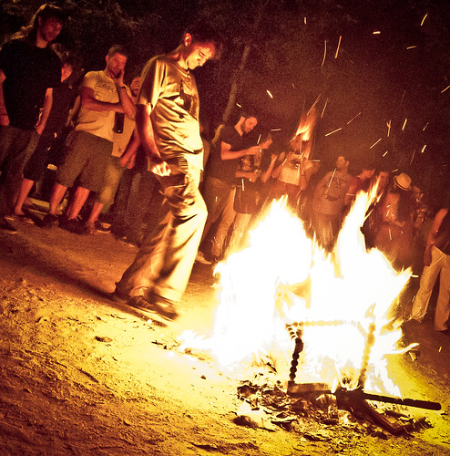 Hogueras de San Juan. La Latina 23-06-10
