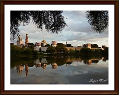 Novodevichy Convent, Moscow Russia (II) (Sugar Mind) Tags: travel sky reflection history water colors work europa europe russia moscow sugar monastery cielo mind job colori convent freddo viaggio mosca lavoro moskva storia novodevichy rossija flickrgoldaward flickrbronzeaward flickrsilveraward yourarthastouchedtheworld universalelite tripleniceshot flickraward5 buildyourrainbowtransparent flickrawardgallery ringexcellence