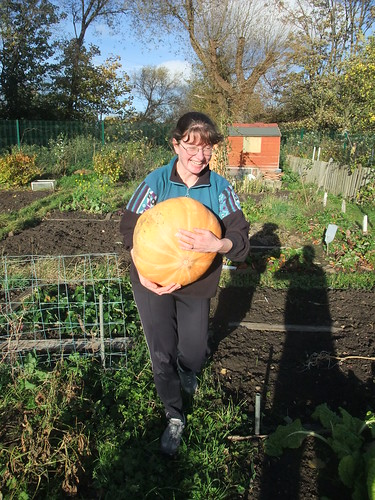 The biggest pumpkin this year!