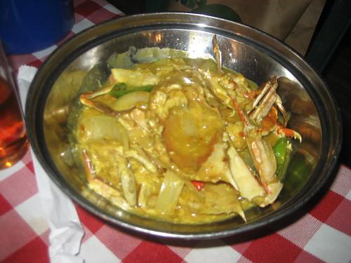 Chili crab!