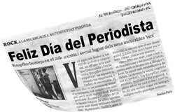 ¡Feliz Día del Periodista! – 7 de Junio de 2007