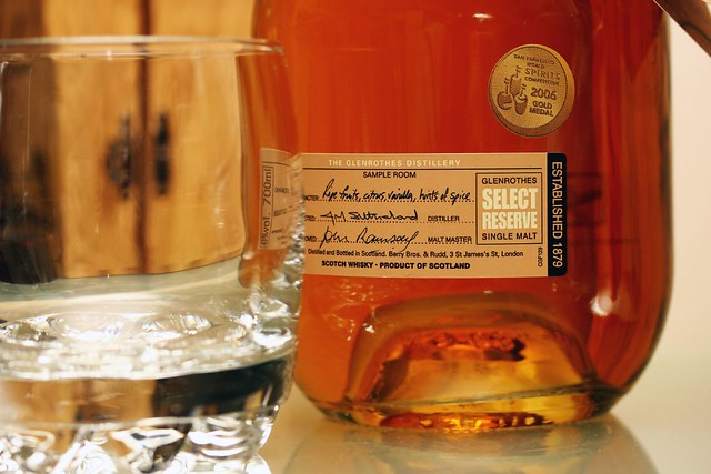 A gift of Glenrothes' Scotch Whisky