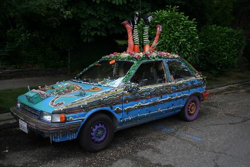 Flivver Art Car by Joy Johnston - Oregon